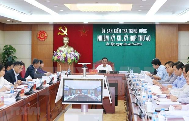 Revisan cumplimiento de normas en filas del Partido Comunista de Vietnam hinh anh 1