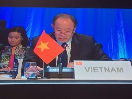 Comprometido Vietnam a garantizar seguridad en Comunidad Francofona hinh anh 1
