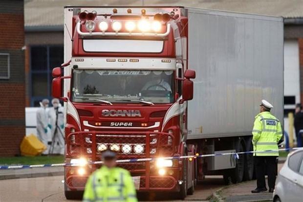 Cree policia del Reino Unido que victimas de tragedia en contenedor son vietnamitas hinh anh 1