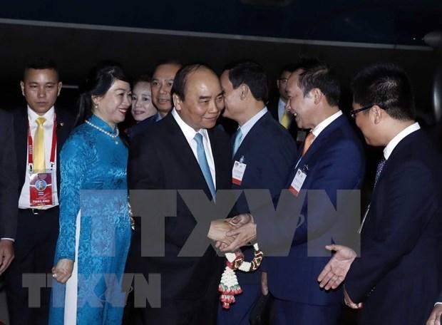 En Tailandia Premier de Vietnam para Cumbre de ASEAN hinh anh 1