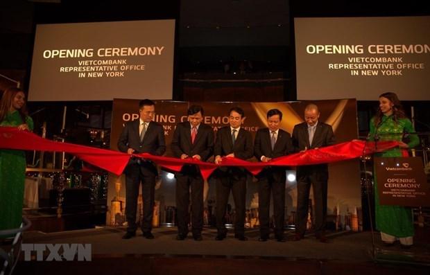 Se convierte Vietcombank en primer banco vietnamita con sucursal en Estados Unidos hinh anh 1