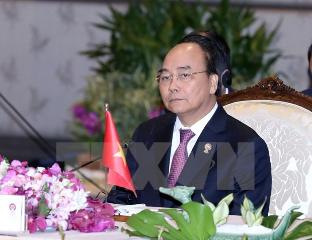 Premier vietnamita elogia unidad de ASEAN hinh anh 1