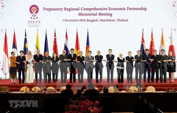 Tailandia solicita ayuda japonesa para culminar negociaciones de RCEP hinh anh 1