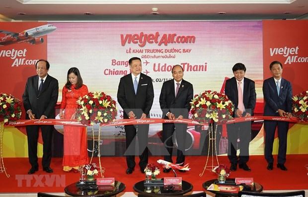 Abren nuevas rutas aereas entre Vietnam y Tailandia hinh anh 1