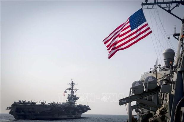 Concluyen Estados Unidos y Brunei ejercicio de entrenamiento maritimo hinh anh 1