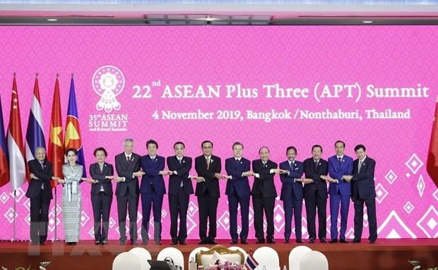 Exhorta Vietnam a fortalecer conectividad entre la ASEAN y sus socios hinh anh 1