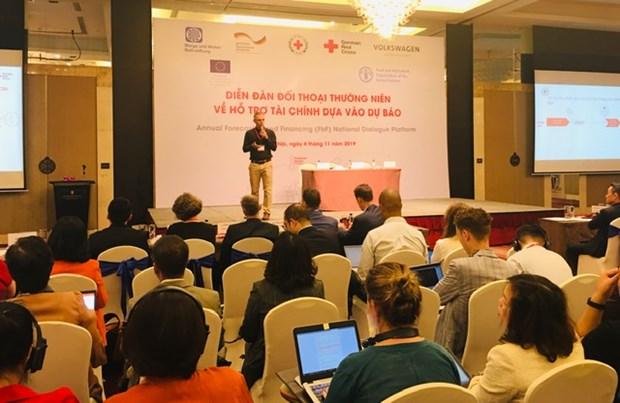 Dialogan en Vietnam sobre el financiamiento basado en pronosticos hinh anh 1