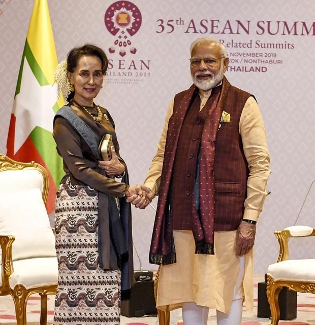 Fortalecen cooperacion bilateral la India y Myanmar hinh anh 1