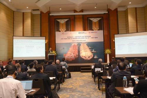 Buscan empresas noruegas oportunidades para producir en Vietnam gas natural licuado hinh anh 1