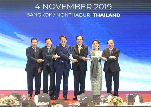 Asiste Vietnam a Cumbre Mekong-Japon hinh anh 1