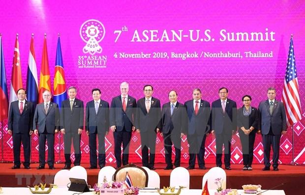 Comprometido Vietnam a fortalecer nexos ASEAN-EE.UU. hinh anh 1