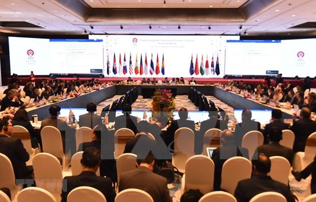 Concluye la ASEAN debates acerca del Acuerdo de Asociacion Integral Regional hinh anh 1