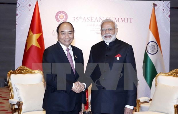 """Respalda Vietnam politica de """"Accion hacia el Este"""" de la India hinh anh 1"""