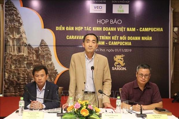 Efectuaran programas para conexion comercial entre Vietnam y Camboya hinh anh 1