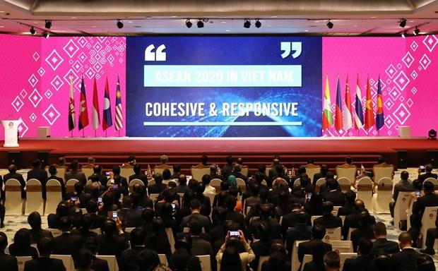 Concluyen XXXV Cumbre de ASEAN y citas anexas hinh anh 1