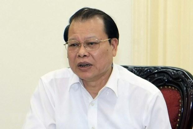 Aplican medidas disciplinarias contra exvicepremier vietnamita por violaciones hinh anh 1