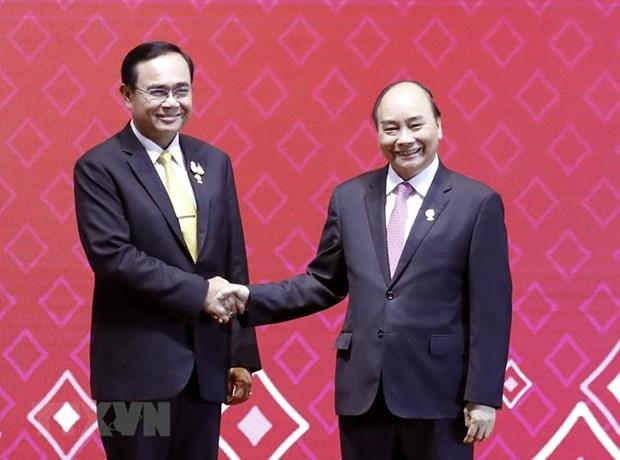 Felicita Tailandia a Vietnam por asumir presidencia de ASEAN en 2020 hinh anh 1