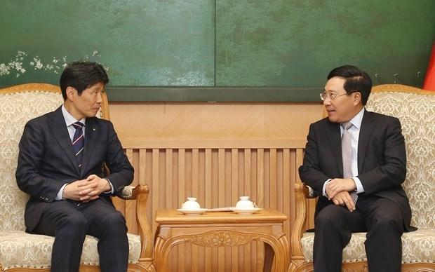 Vietnam atesora lazos con Japon, afirma vicepremier vietnamita hinh anh 1