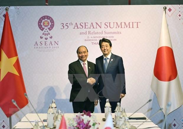 Resalta Vietnam asociacion estrategica ASEAN-Japon hinh anh 1