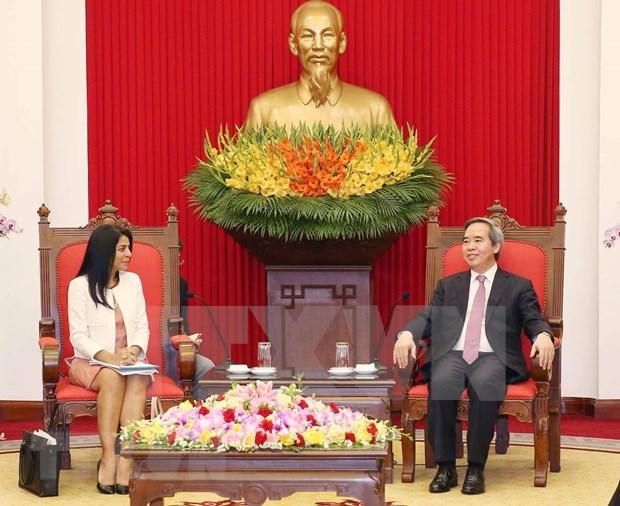 Desea Vietnam recibir apoyo del FMI para materializar objetivos economicos hinh anh 1