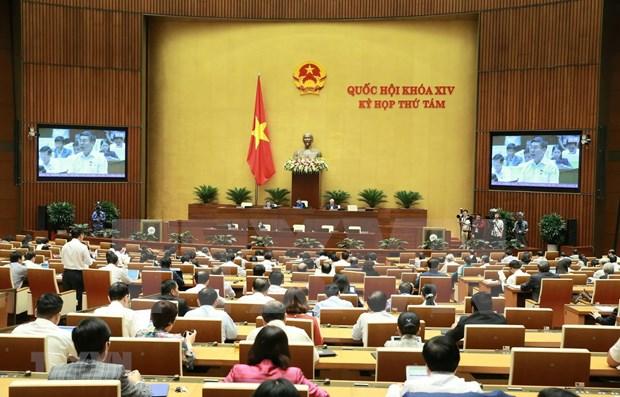 Abordara Parlamento de Vietnam labor judicial y lucha contra la delincuencia hinh anh 1