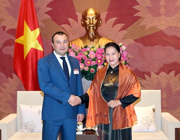 Destacan amistad tradicional Vietnam- Armenia hinh anh 1