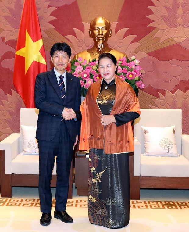 Valora maxima legisladora de Vietnam lazos con prefectura japonesa de Gunma hinh anh 1