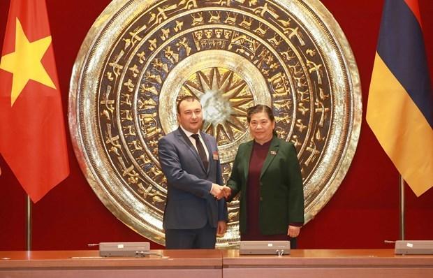 Estrechan Vietnam y Armenia cooperacion en diferentes sectores hinh anh 1