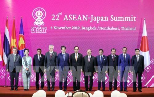 Ratifica Japon disposicion de duplicar la asistencia crediticia a la ASEAN hinh anh 1