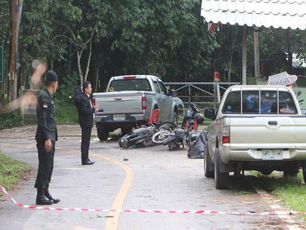 Mueren al menos 15 personas en Tailandia durante ataque de presuntos separatistas hinh anh 1
