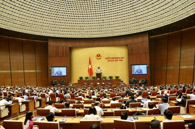 Inicia Parlamento vietnamita primera jornada de interpelaciones hinh anh 1
