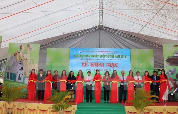 Inauguran Feria Agricola Internacional de Vietnam 2019 hinh anh 1