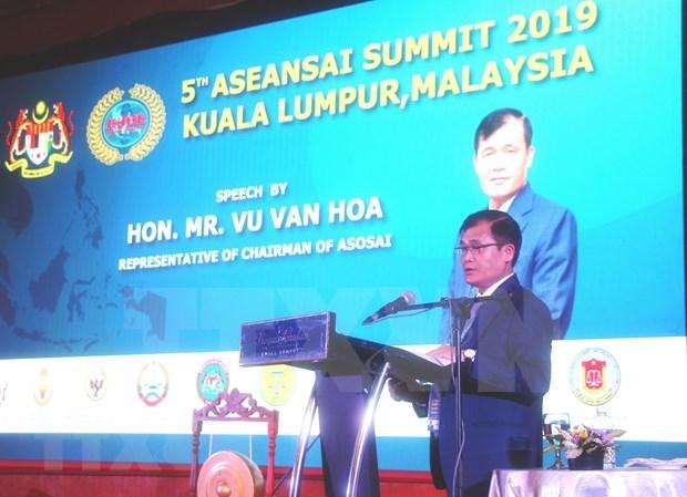 Vietnam participa en quinta cumbre de ASEANSAI hinh anh 1