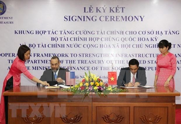 Aumentara Estados Unidos financiamiento para infraestructura de Vietnam hinh anh 1