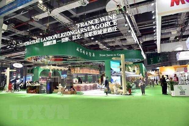 Participa Vietnam en Feria Internacional de Importaciones de China hinh anh 1