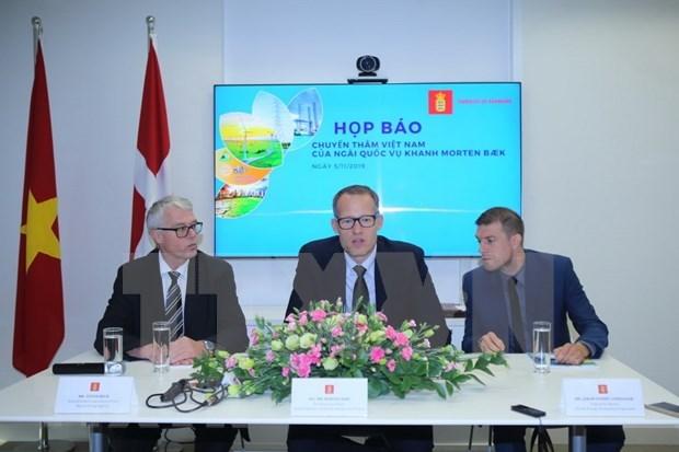 Dinamarca se compromete a ampliar asociacion energetica con Vietnam hinh anh 1