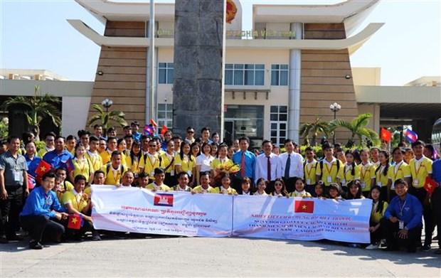 Promueven Vietnam y Camboya intercambio juvenil amistoso tradicional hinh anh 1