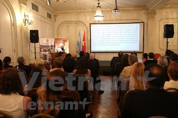 Vietnam promueve cooperacion en comercio, inversion y turismo con Argentina hinh anh 1