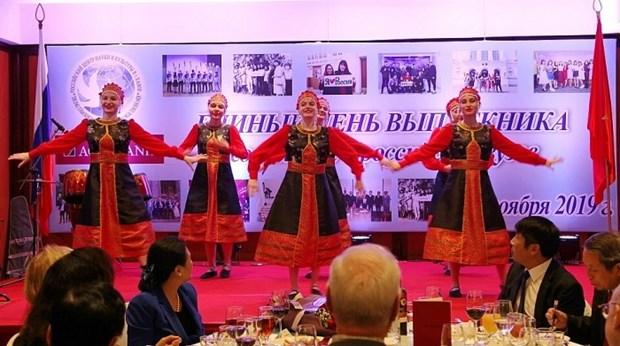 Reviven recuerdos de graduados vietnamitas en la Union Sovietica y Rusia hinh anh 1