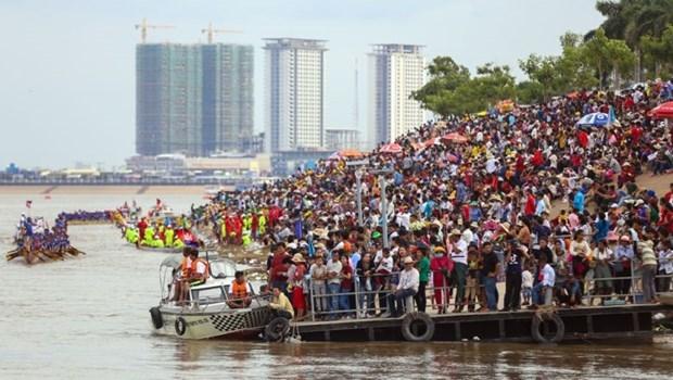 Garantiza Camboya la seguridad durante el Festival del Agua hinh anh 1