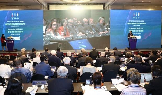 Concluye en Vietnam XI Conferencia Internacional sobre el Mar del Este hinh anh 1