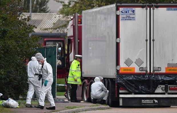 Las 39 victimas del camion de Essex son vietnamitas, confirma Ministerio de Seguridad Publica hinh anh 1