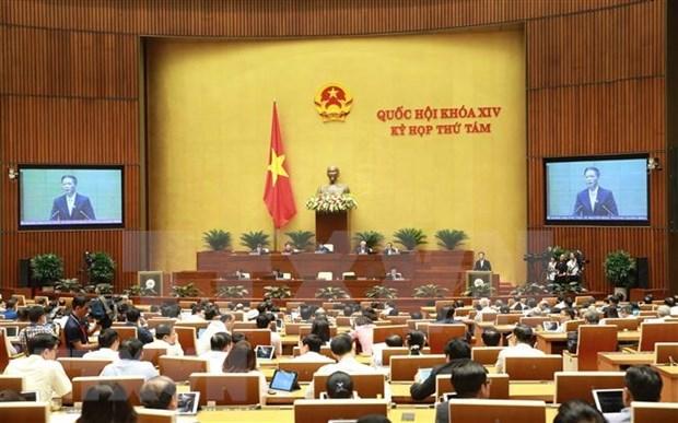 Continua Parlamento de Vietnam segunda jornada de interpelaciones a ministros hinh anh 1