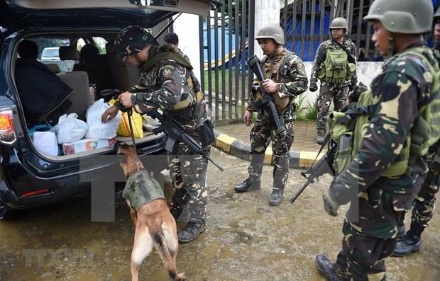 Frustra Filipinas intento de ataque terrorista hinh anh 1
