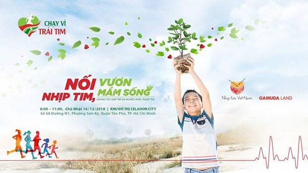 Realizaran maraton en Vietnam a favor de ninos con enfermedades cardiacas hinh anh 1