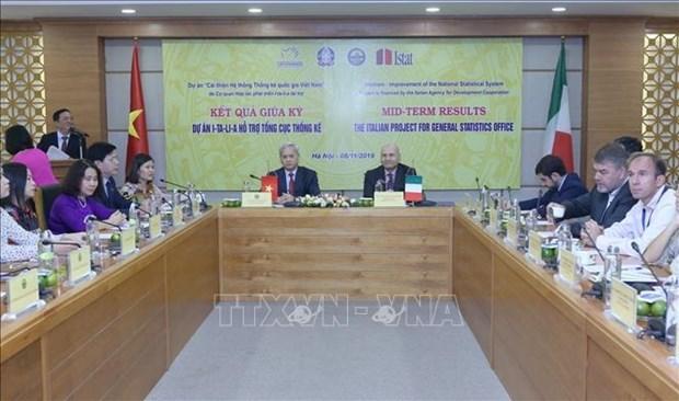 Avanza proyecto de mejoramiento del Sistema Estadistico Nacional de Vietnam hinh anh 1
