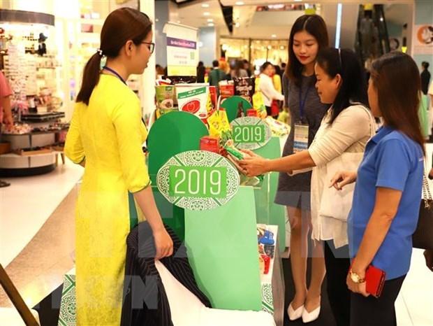 Inauguran semana de productos vietnamitas en Tailandia hinh anh 1