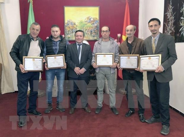 Resalta Vietnam aportes de argelinos al fortalecimiento de lazos binacionales hinh anh 1