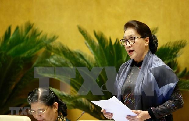 Concluye Parlamento de Vietnam interpelaciones a miembros del gabinete hinh anh 1
