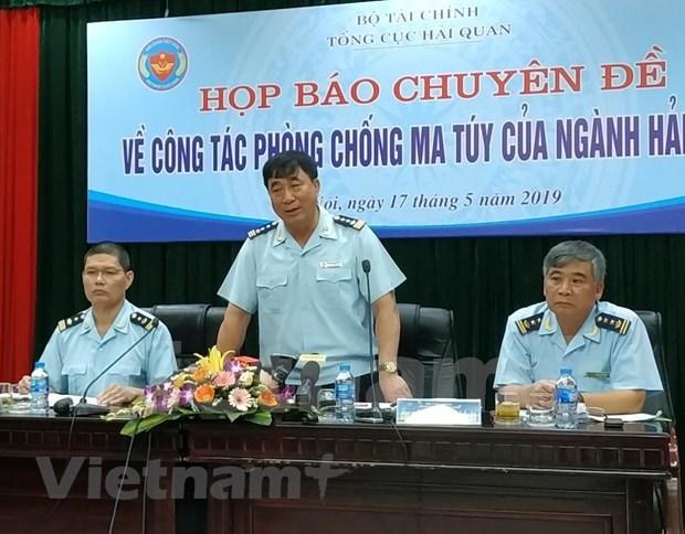 En tendencia alcista el trafico de drogas desde el Triangulo Dorado hacia Vietnam hinh anh 1